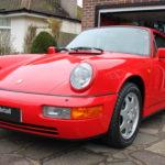 Porsche detailed in Surrey