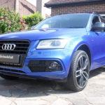 Audi new car detail
