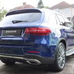 Mercedes new car detailing