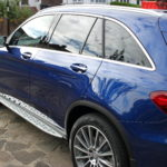Mercedes GLE new car detail