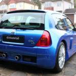 Renault Clio V6 detailed