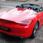 Porsche Boxster Spyder detailing
