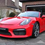 Porsche detail in Surrey