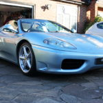Ferrari detail in Surrey