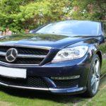 Mercedes detail in Surrey