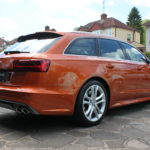 Audi new car detail in Surrey
