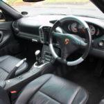 Porsche interior detail