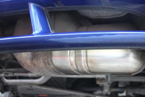 Exhaust polishing